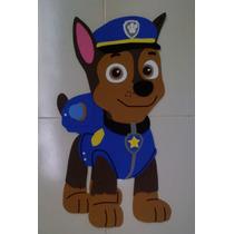 Figuras De Fomi, Personajes Paw Patrol Foami Fiesta Chase