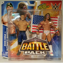 Wwe Mattel Battle Pack John Cena & The Ultimate Warrior