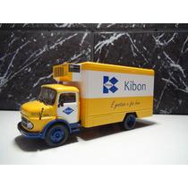 Caminhão Mercedez-bens 1113 Kibon 1:43 Marca Ixo
