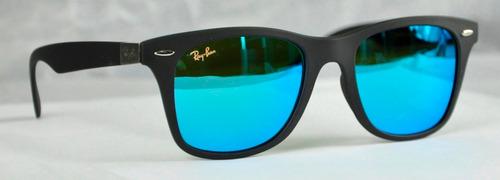 ray ban lente azul claro