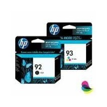 Cartuchos Hp Negro 92 Y 93 Color Originales