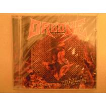 Orgone Cd Straight To Hell Banda De Rock New Y Sellado