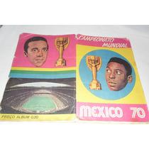Album Campeonato Mundial México 70 -editora Sadira