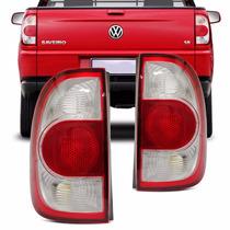 Lanterna Saveiro G4 2006 2007 2008 2009 2010 Cristal G2 G3