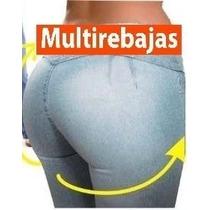 * Jeans Levantacola Super Strech Moda 2016, S M L Xl
