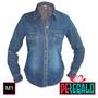 Blusa De Jeans Clasica