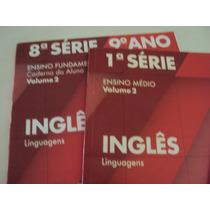 Livro Apostila Caderno Do Aluno Ingles 1ª Serie E 8ª Serie