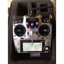 Rádio Futaba 10 Chg 2,4ghz + R6208sb + Maleta + Bateria Life