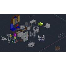 Bloques En Autocad 2d Y 3d Envió Gratis A Tu Email!!!