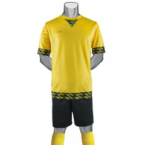 Uniforme Futbol Jamaica 2016 Juvenil Completo Galgo