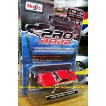 1:64 Pontiac Firebird 1969 Maisto Pro Rodz Muscle Car