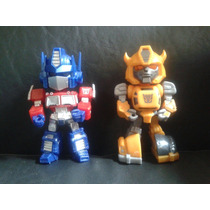 Transformers Bumblebee Optimus Prime Muñecos Articulados Luz