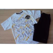Conjunto Tigor T Tigre Camiseta/bermuda T10/12