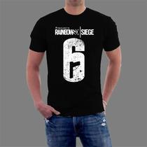 Camiseta Rainbow Six Siege Camisa Playstation Ps4 Game Jogo