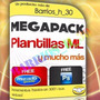 Plantillas Mercadolibre 100% Editables Hd Elite Profesional