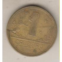 B133 - 1 Um Real 1945 Excesso Metal Anômala Rara R$ 10,00