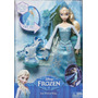 Frozen, Disney, Disney Frozen Ice Power Elsa Doll