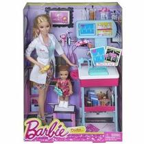 Boneca Barbie Quero Ser Médica - Mattel