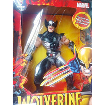 Brinquedo Boneco Wolverine Original Marvel 40cm