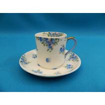 Taza De Café Inglesa De Porcelana Crown Staffordshire