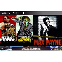 Red Dead Redemption Ps3 Psn Undead Nightmare E Max Payne 2