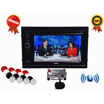 Dvd 2 Din Multimidia Nissan Tiida Camera De Ré Sensor Usb
