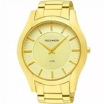 Relógio Technos Masculino Classic Slim Gl20gt/4x