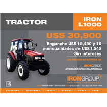 Tractor Agricola Iron L1000 100hp 4x2