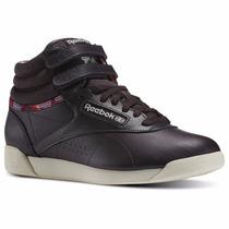 Zapatillas Reebok Classics Freestyle Hi Geo Violeta Morado