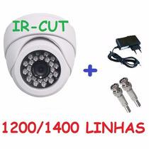 Camera Infravermelho Dome Ir Cut 20mts 25mts Ccd Sony 1200l