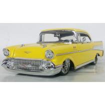 Auto De Coleccion Escala 1:24 Jada Toys Chevy Bel Air 1957