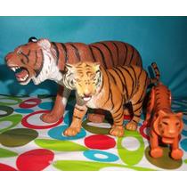 Tigres De Colección Varios Tamaños (precio X Las 3 Figuras)
