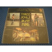Disco Acetato Vinil Three Souls In My Mind Chavo De Onda Lp#