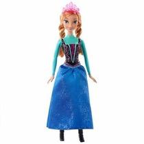 Boneca Princesa Ana Brilhante - Disney Frozen - Mattel