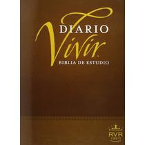 Biblia Del Diario Vivir Rvr60 En Tapa Dura