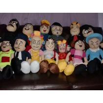 Bonecos Pelúcia Turma Do Chaves (10) Personagens
