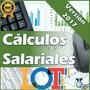 Calculos Salariales 2017 Actualizada Nueva Hoja