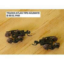 Trucks Atlas Accumate Para Tren Escala N