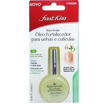 First Kiss Óleo Fortalecedor Para Unhas E Cutículas 15ml