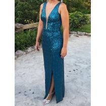 Vestido Longo Feminino Formatura, Festa E Madrinha De Casame
