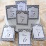 Numeros De Mesa 10x15 Casamiento Cumpleaños 15 Años Fiestas