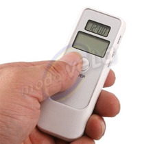 Alcoholimetro Digital Con Relojtermometronivel De Alcohol E