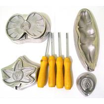 Kit De Frisadores Para Fazer Orquídeas E Flores Em Eva