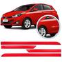 Friso Hyundai Hb20 2013 Á 2015 Vermelho Facao S/escrita