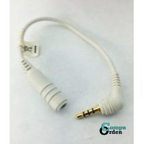 Cable De Audio 2.5mm Macho A 3.5mm Hembra Telefono Celular
