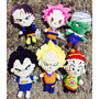 Pelúcia Kit 6 Dragon Ball Z Animes Goku
