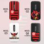 Capa Capinha Moto G3 Time Flamengo *vários Modelos* Lindas