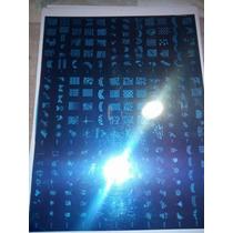 Placa Stamping Xxl Deco Nail Art Decoracion Stamping