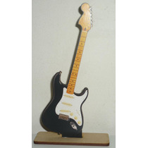 6 Centros De Mesa Guitarra Electrica En Fibrofacil