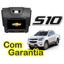 Central Kit Multimidia Nova S10 12x S/juros Gps Dvd Cam Tv